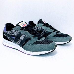 Gola Samurai Leopard Track Sneakers
